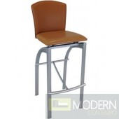 S3030 commercial and restaurant grade leather barstool