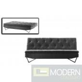 Divani Casa Darlow - Modern Tufted Fabric Sofa Bed