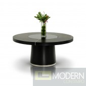 Modrest Houston - Black Oak Dining Table