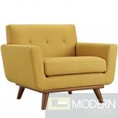 Engage Fabric Armchair Citrus