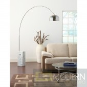 Sunflower Floor Lamp - Cube Marble Base