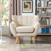 Remark Fabric chair beige