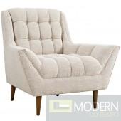 Response Fabric Armchair Beige