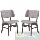 Grey Vestige dining chair