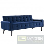 Dolce Velvet Sofa in Navy