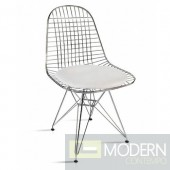 Eiffel Dining Chair, White