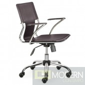 Elegant Office Chair, Brown
