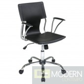Elegant Office Chair, Black