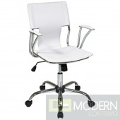 Elegant Office Chair, White
