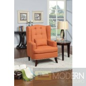 Carla Modern Fabric Linen Tall Accent Chair Free Free inside Delivery in DMV metro area within 24 to 72 hours,