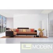 F37 Contemporary fabric sectional sofa