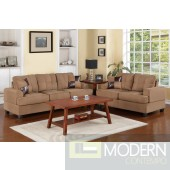2Pc Saddle  microfiber sofa + loveseat set  MCGSL7576 Free 24 to 72 hours inside delivery in DMV Area