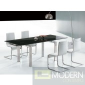 Modrest Pacific Modern Extendable Dining Table
