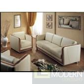 Vera Italian Traditional Leather Sofa set