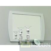 Modrest Monte Carlo Silver Mirror
