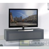 Modrest Bergamo - BG422-ANM Modern Metallic Grey TV Stand Made in Italy