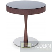 2 Modrest M512T - Modern Wenge Glossy End Table