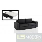 Divani Casa Sultan Modern Grey Fabric Sofa Bed
