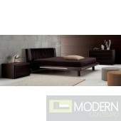 SMA Matrix Ebony - Cal. King Bed Only - Made in Italy