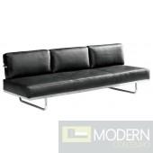Flat Lc5 Sofa Bed, Black