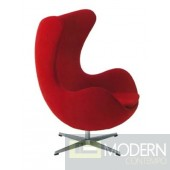Arne Jacobsen 100% Wool Egg Chair