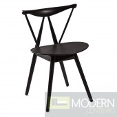 Fronter Dining Chair, Black