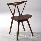 Fronter Dining Chair, Walnut