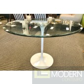 Modern Circuit Round Dining Table