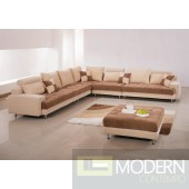 G60B Sectional Sofa With Ottoman