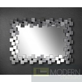 Modrest Pixel Rectangle Wall Mirror