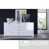 Modern BLACK Buffet,  made in Italy.