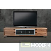 Modrest Glen Modern Walnut TV Stand