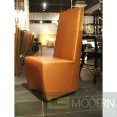 A&X 0020 Isere Gold Leatherette Dining Chair