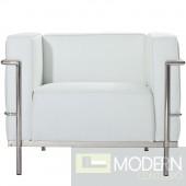 Grand Lc3 Chair, White