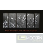 Modern Contemporary Abstract Metal Wall Sculpture Art Work Home Decor 5pc/Set