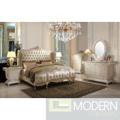 Leoma European Style Luxury Queen or King Bed