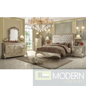 Cleo European Style Luxury Queen or King Bed