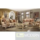 Salome Upholstery Living Room Set Victorian, European & Classic Design Sofa Set HD1633