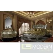 Evangelino European Style Luxury Queen or King Bed