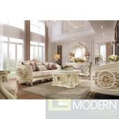 Adalene Upholstery Living Room Set Victorian, European & Classic Design Sofa Set
