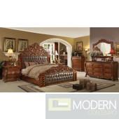 Hatsu European Style Luxury Cherry color King Bed