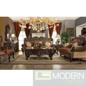 Daria upholstery living room set Victorian, European & Classic design Sofa Set MCHD47