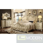 Candace European Style Luxury Queen or King Bed
