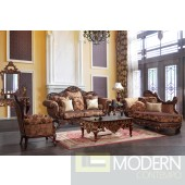 Eudora Chenille upholstery living room set Victorian, European & Classic design Sofa Set MCHD66