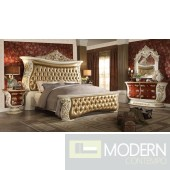 European Style Luxury Queen or King Bed MCHD-8019