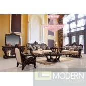 Gaia Luxury living room set Victorian, European & Classic design Sofa Set MCHD80