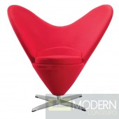 Heart Chair, Red