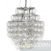 Nuevo Letizia Chandelier - 18W in. - Chrome