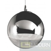 Nuevo Diego Jr. Pendant - 15.75W in. Chrome