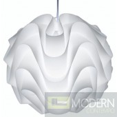 "17"" Meringue Pendant Light"